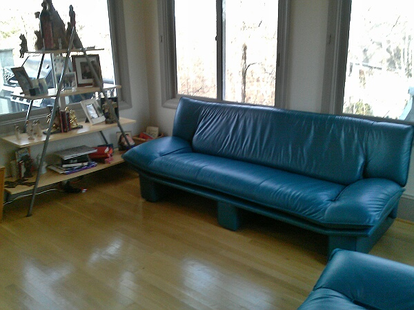 Green Natuzzi Sofa And Loveseat The Leather Repair